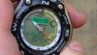 Casio AQW 101-1A part. 2