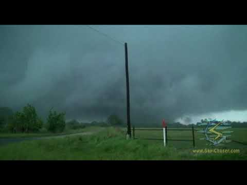 Large Tornadoes In Van Zandt County (TX) On April 29, 2017