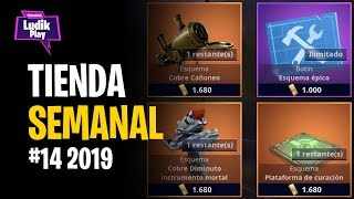 #14 WEEKLY STORE: CANO, DIMINUTO MORTAL INSTRUMENT, CURE TRAP . . . . . . . . . . . . . . . . . . . . . . . . . . . . . . . . . . . . FORTNITE SAVE THE WORLD