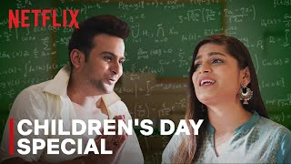 What If Netflix Characters Celebrated Children's Day feat. Srishti Dixit & Sanket Bhosale