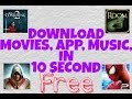 Free Movies Download Online | Free Music Download | Free aap download