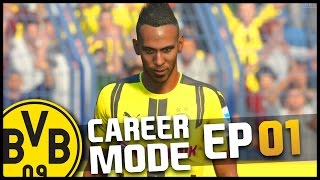 FIFA 17 | Borussia Dortmund Career Mode - 'PRE-SEASON & TRANSFERS!' | #01