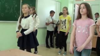 последний урок 5-го класса Черноморской СШ-1