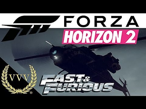Forza Horizon 2 - Fast and Furious Helicopter Race