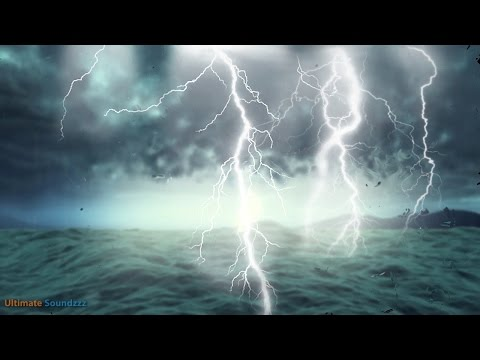 🎧 Thunderstorm at Sea with Heavy Rain | Rainstorm Sounds for Sleeping & Relaxation,@Ultizzz day#21
