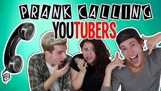 PRANK CALLING YOUTUBERS W/ JACK & DREW | AYYDUBS