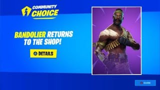 Fortnite Community Choice Winner! Fortnite Skin Item Shop Voting Winner