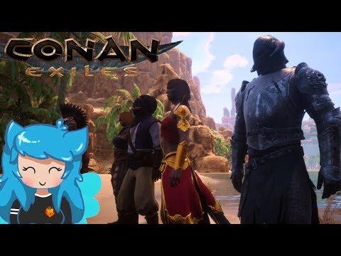 HIDDEN ARMORS, LOCATION GUIDE + SPEEDRUN OF THE BLACKEEP DUNGEON | Conan Exiles | Episode 20