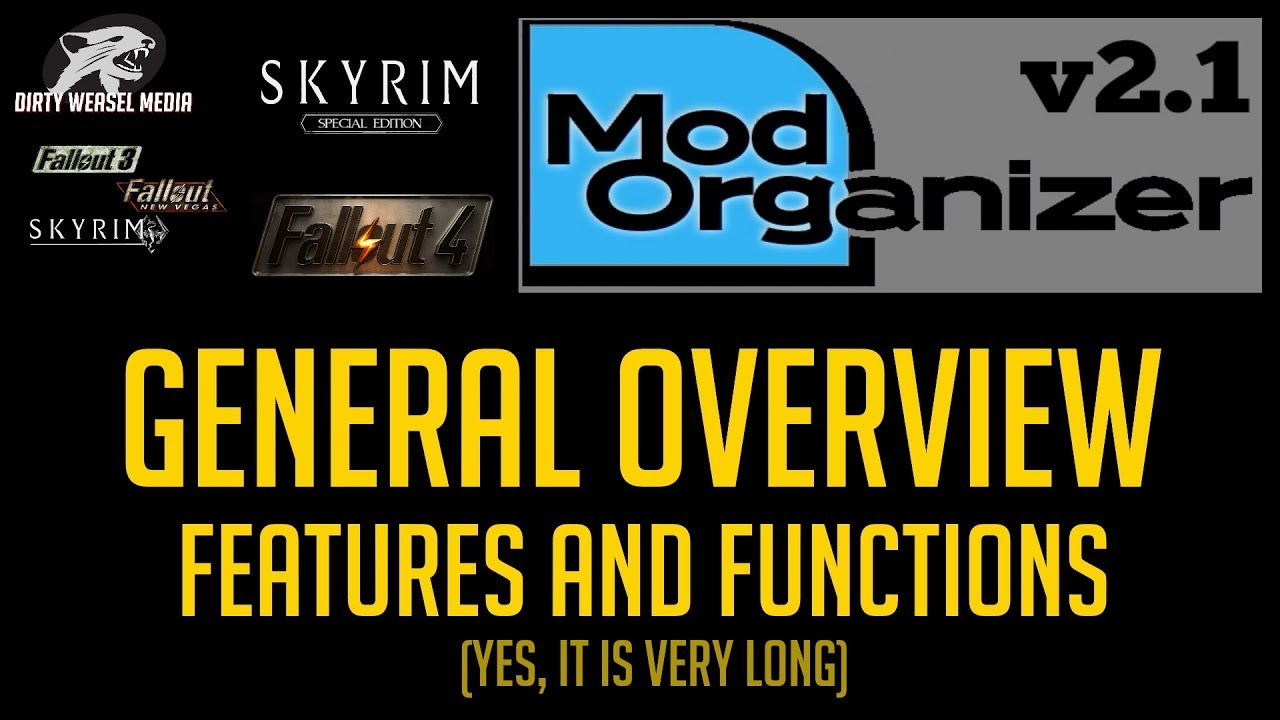 Mod Organizer 2 (v2 1) Overview of Features and Functions (Long)