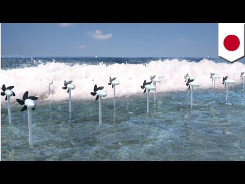 Clean energy: New Japanese turbines generate electricity from sea waves - TomoNews