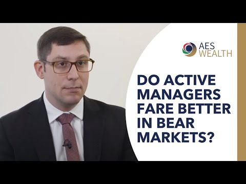 Do active managers fare better in bear markets?