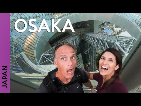 JAPAN: Osaka Castle, Osaka Station And Umeda Sky Building | Vlog 2