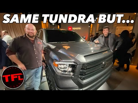 There Is No BRAND NEW 2021 Toyota Tundra, But There Is A New Special Edition!