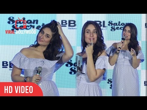 Kareena Kapoor Khan Full Speech | BBLUNT Salon Secret Launch
