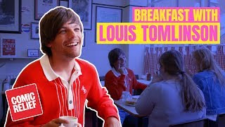 Breakfast with Louis Tomlinson!? | Comic Relief