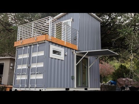 Haus Container boxed haus the two shipping container house