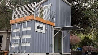 Boxed Haus The Two Story Shipping Container House