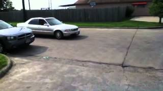 Acura legend type I 2nd gear burnout