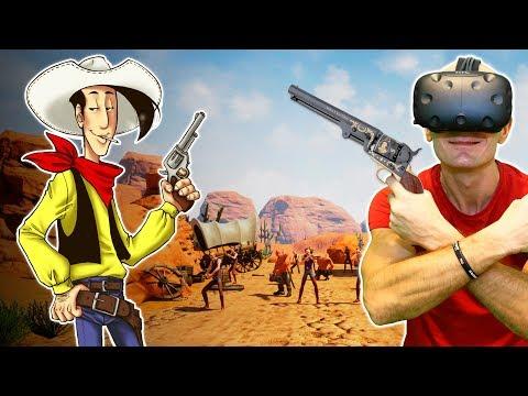 LUCKY LUKE IN VIRTUAL REALITY | Guns'n'Stories: Bulletproof VR HTC Vive Gameplay