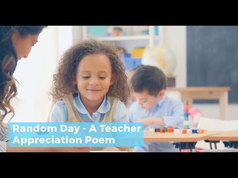 Poems For Teachers