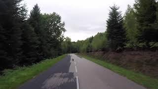 France Pays du Lunevillois Route Lunéville Baccarat Gopro