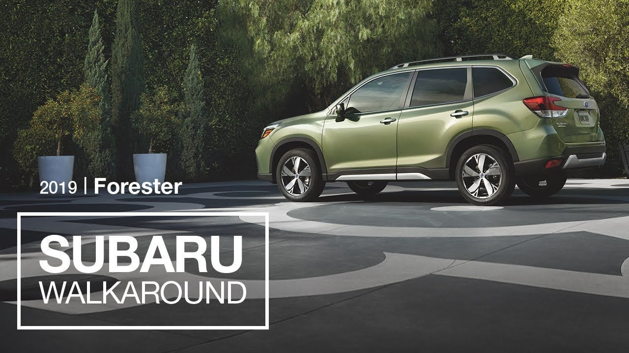 The All New 2019 Subaru Forester Suv Model Walkaround