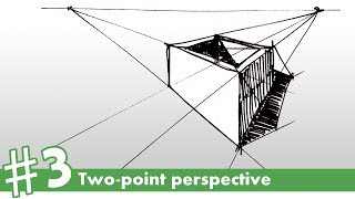 how to draw in two point perspective 1 3   how to draw