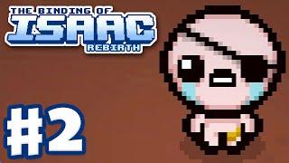 The Binding of Isaac: Rebirth - Gameplay Walkthrough Part 2 - Cain (PC)