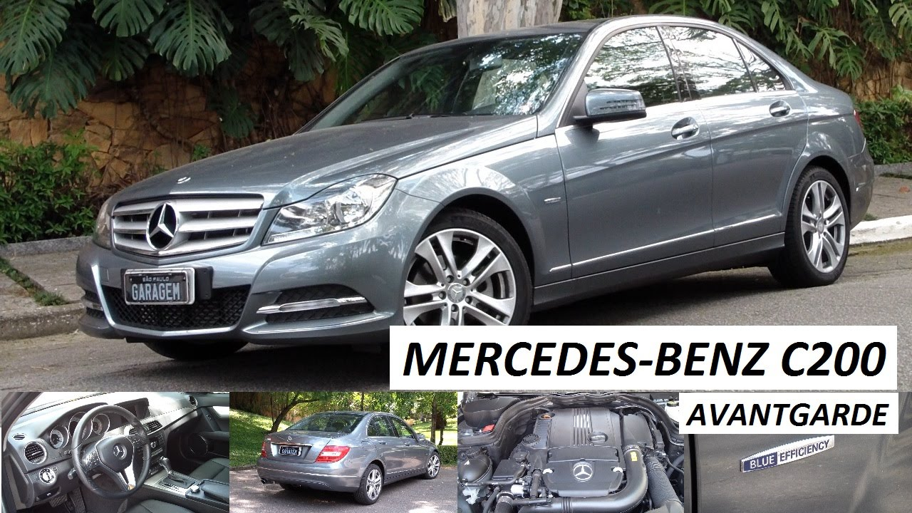garagem do bellote tv mercedes benz c200 avantgarde youtube