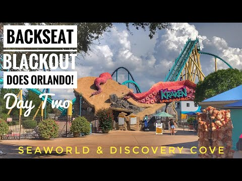 Day 2 - SeaWorld & Discovery Cove Vlog (Orlando, August 2017)