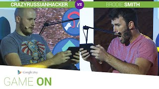 Google Play: Game On // CrazyRussianHacker vs. Brodie Smith