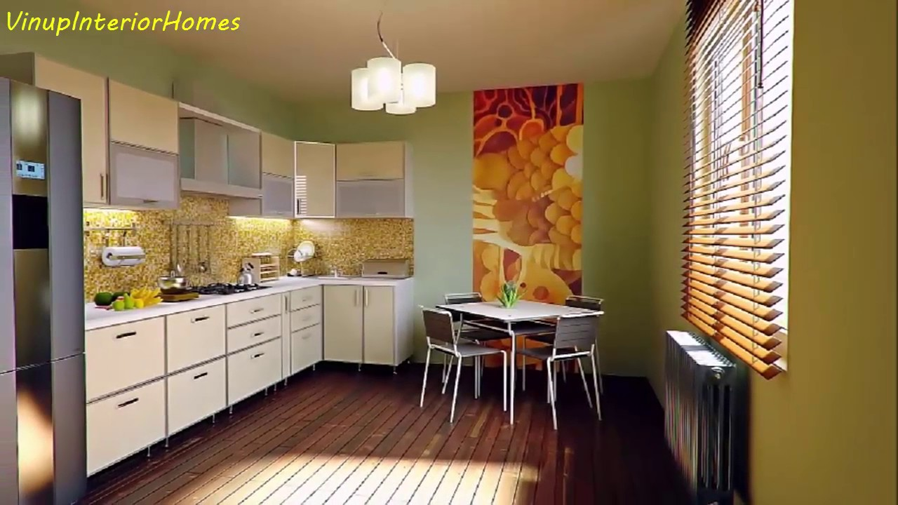 11 modern american kitchen designs youtube for Modern kitchen design tamilnadu