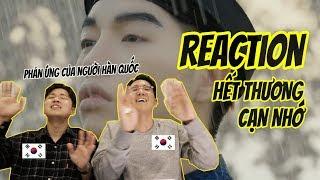 Phản ứng của người Hàn khi xem HẾT THƯƠNG CẠN NHỚ     #HTCN Reaction