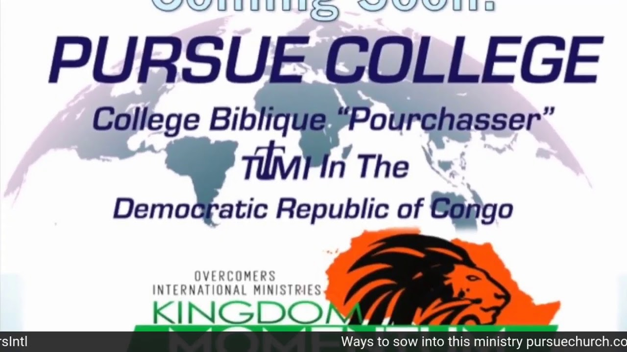 The Kingdom...Pursue It! (pt. 3)
