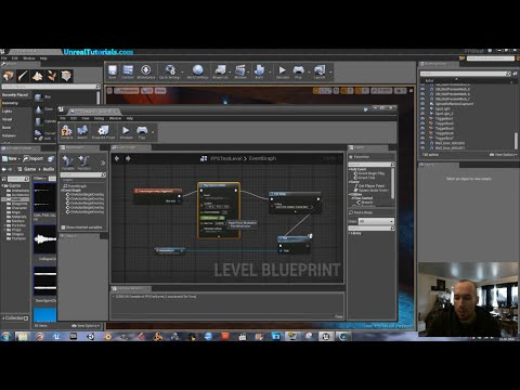 Unreal Engine 4 Tutorial - Output Message to Screen + Modify Sound