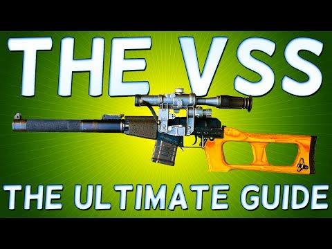PLAYER Unknown's BATTLEGROUNDS VSS - The BEST SNIPER Rifle or the QUIETEST? BATTLEGROUNDS VSS
