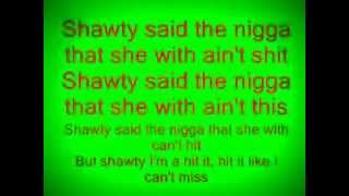 Lollipop - Lil Wayne (ft. Static major) ( lyrics)