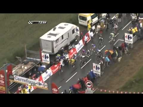 Tour de France 2011 Stage 16   ITV Highlights