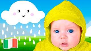 Pioggia, Pioggia Canzoni per bambini - Five Kids