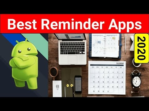 Top 5 Best Reminder Apps For Android 2020