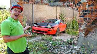Купили на аукционе автомобиль за 150 тысяч и нашли его в сарае