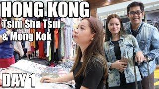 Hong Kong Tsim Sha Tsui and Mong Kok Day 1