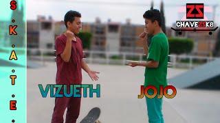 Jojo vs Vizueth | S.K.A.T.E. con.... | Chavez Sk8