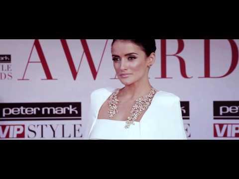 Virginia Macari  Peter mark VIP Style Awards 2013