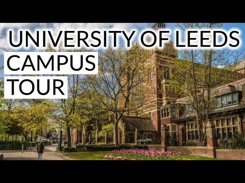 University of Leeds Full Campus Tour