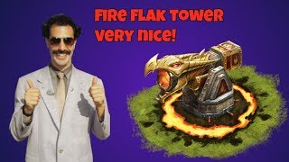 War Dragons Fire Flak Tower