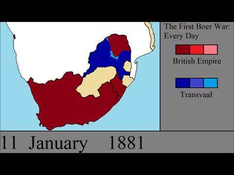 The First Boer War: Every Day