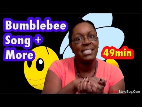 Baby Bumblebee Song + More | Action Songs | LittleStoryBug