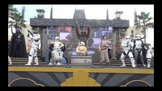 4K STAR WARS: Galaxy Far Far away Stage Show at Disney Hollywood Studios, Disney World