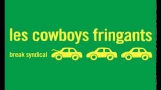 Les cowboys fringants- La manifestation